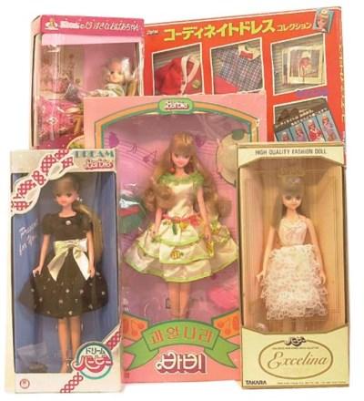 Japanese Market Takara Barbies