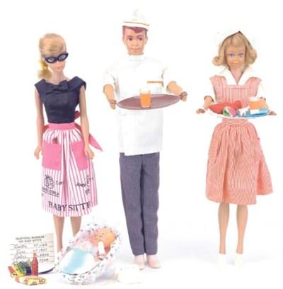 Barbie in 'Barbie Baby Sits' N