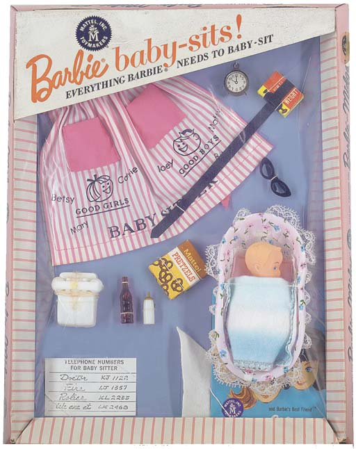 'Barbie baby-sits!' No.0953