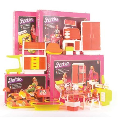 Barbie 1970s Furniture Sets