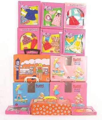 Five Tutti vinyl play cases