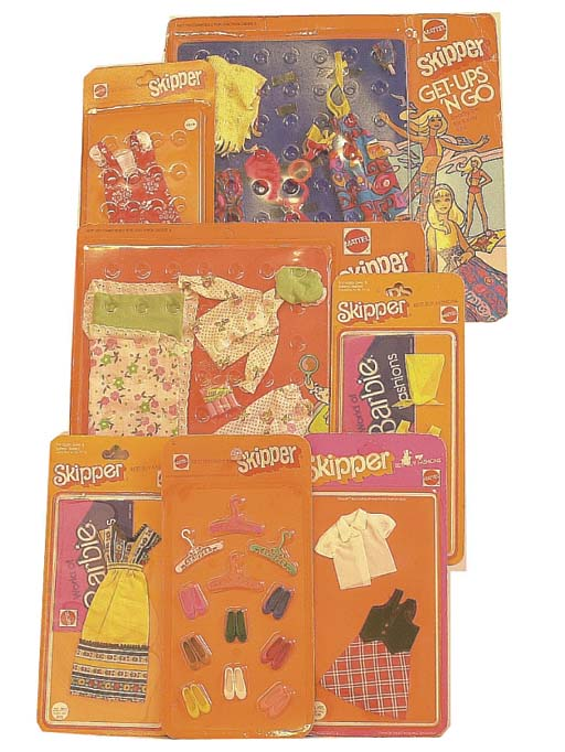 Skipper 1970s outfits