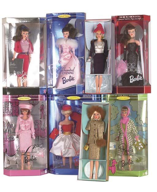 Replica Vintage Barbie Dolls