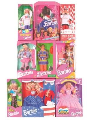 Associated Barbie Dolls