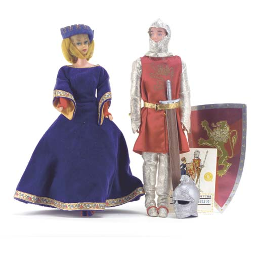 Barbie and Ken-copy in 'King A