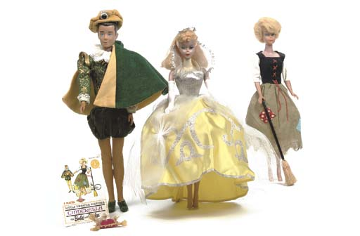 Barbie and Ken in 'Cinderella'