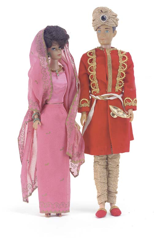 Barbie and Ken in 'Arabian Kni
