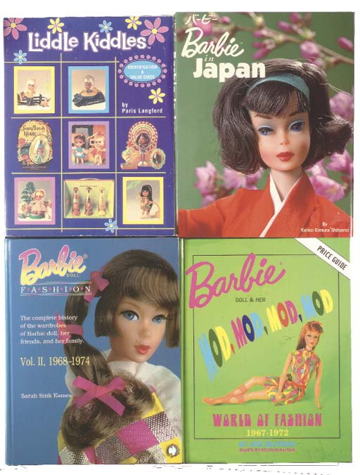 A quantity of Barbie reference