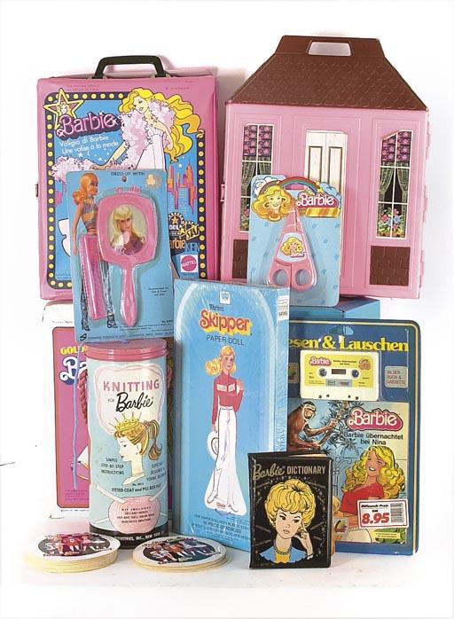 Barbie merchandising