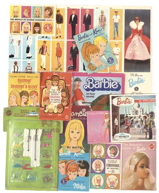 Barbie catalogues