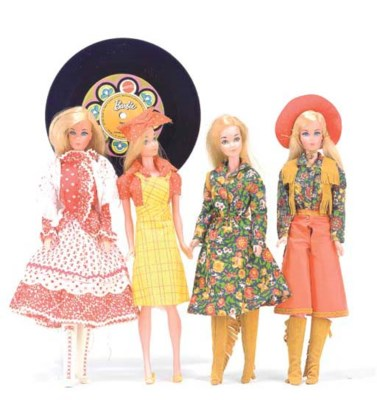 Barbie in 'Country Music' No.1