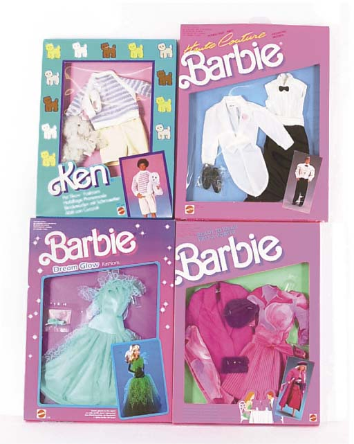 Barbie outfits 1980s
