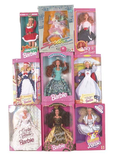 Various Barbie, 1990s