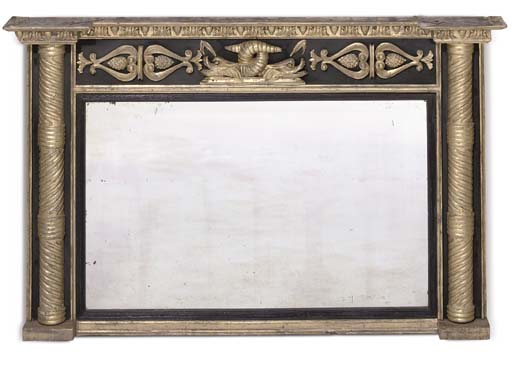 A LATE REGENCY GILTWOOD, COMPO