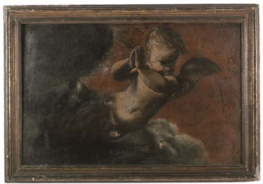 A CHERUB WITHIN A NIMBUS