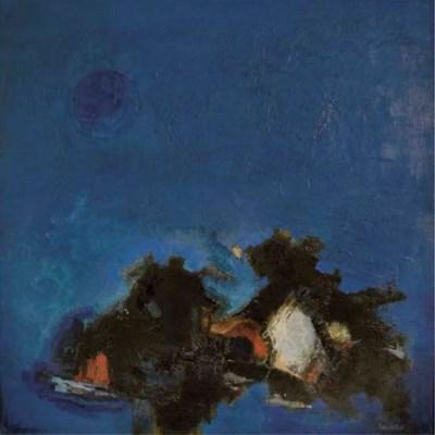Paysage (bleu) (H.993)