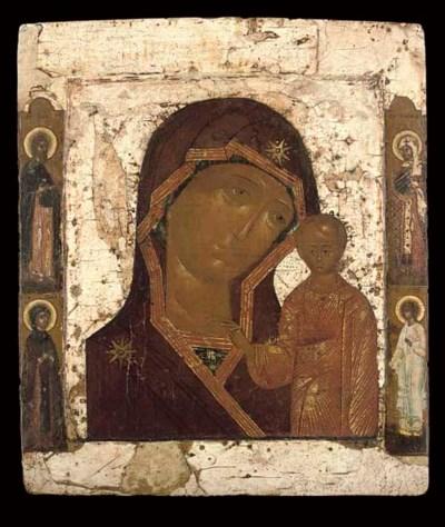 THE KAZANSKAYA MOTHER OF GOD