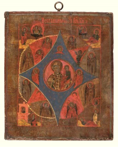 THE MOTHER OF GOD OF THE BURNI