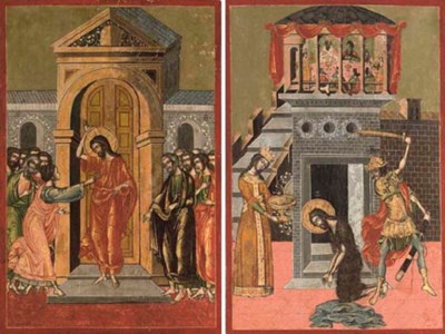 THE DECOLLATION OF THE BAPTIST