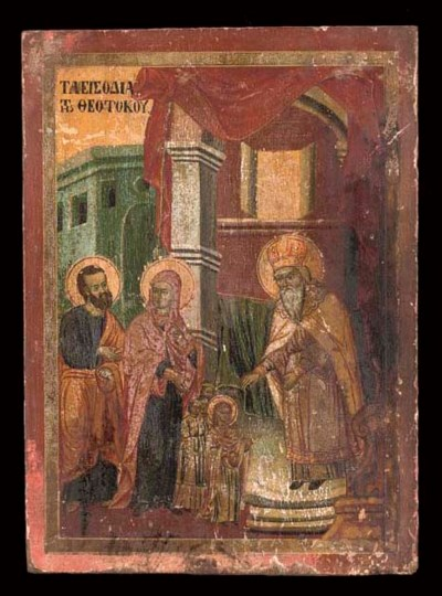 THE ENTRY OF THE MOTHER OF GOD