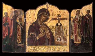 THE MOTHER OF GOD OF AKHYRST W