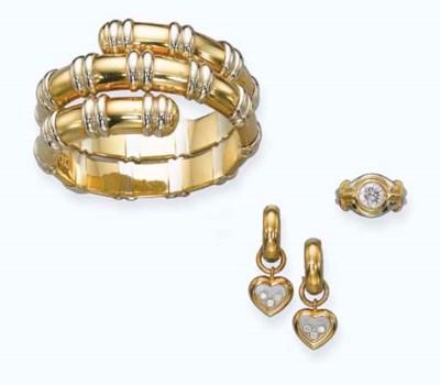 A DIAMOND RING, BY BULGARI, A