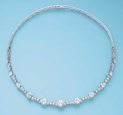 A DIAMOND NECKLACE, BY GÜBELIN