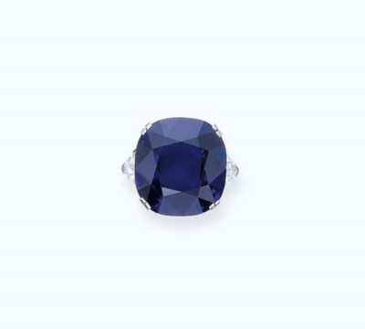 A HIGHLY IMPORTANT SAPPHIRE AN