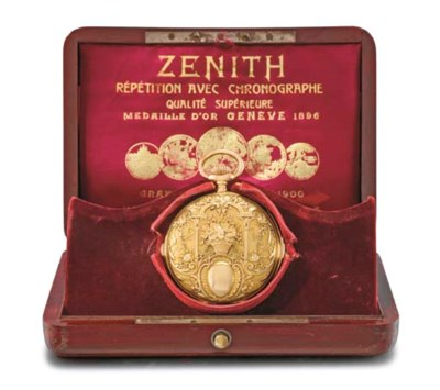 Zenith. A fine and heavy 18K g