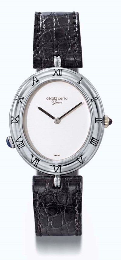 Gerald Genta. A fine platinum