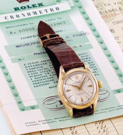 Rolex. A lady's unusual and ra