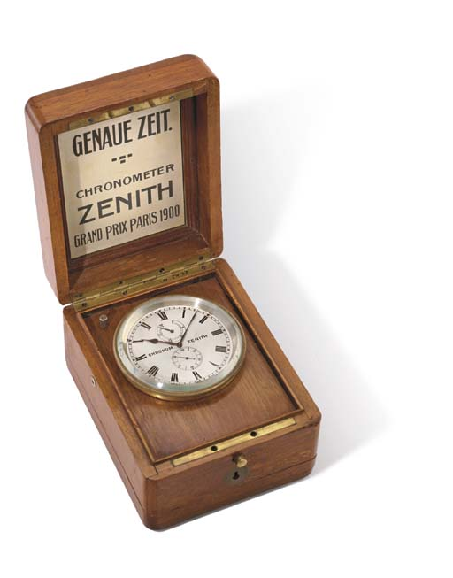 Zenith. A fine and unusual gil