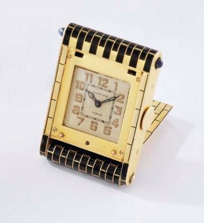 Cartier. A fine 18K gold and e