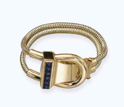 A 'CADENAS' LADY'S WRISTWATCH/