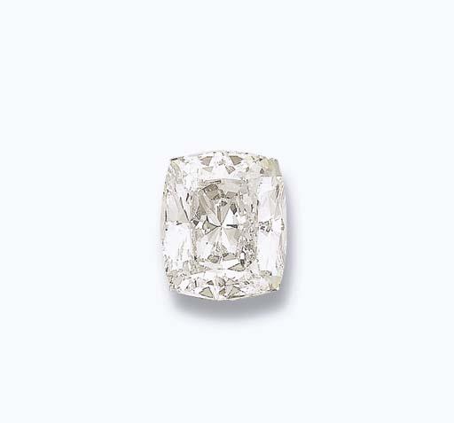 AN IMPRESSIVE UNMOUNTED DIAMON