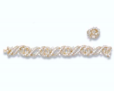 A DIAMOND BRACELET, BY GÉRARD