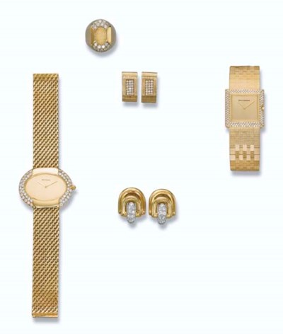 A GROUP OF JEWELLERY AND WATCH