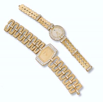 TWO LADY'S WRISTWATCHES, BY BO
