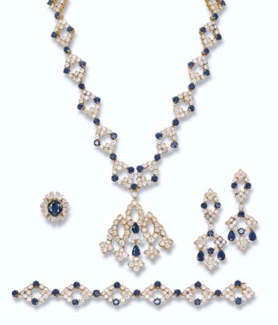 A DIAMOND AND SAPPHIRE SUITE,