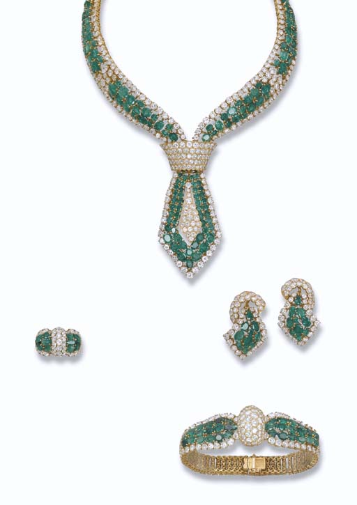 AN EMERALD AND DIAMOND SUITE,