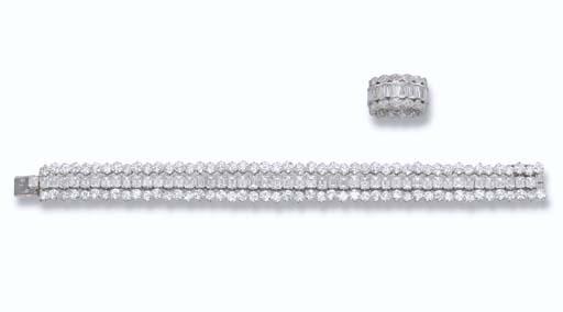 A DIAMOND BRACELET AND ETERNIT