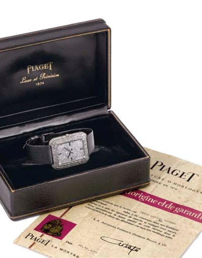 Piaget. A rare, unusual and la