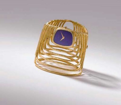 Piaget. An unusual and rare 18