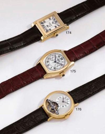 Cartier. A fine 18K gold tonne