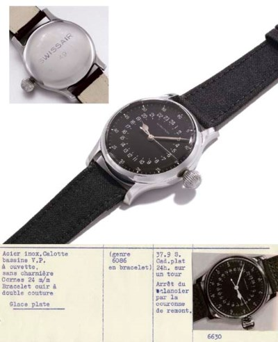 Longines. A highly unusual and