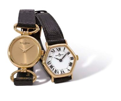 Baume & Mercier. A lot of two