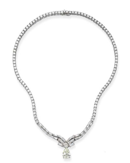 A DIAMOND NECKLACE, BY SANZ