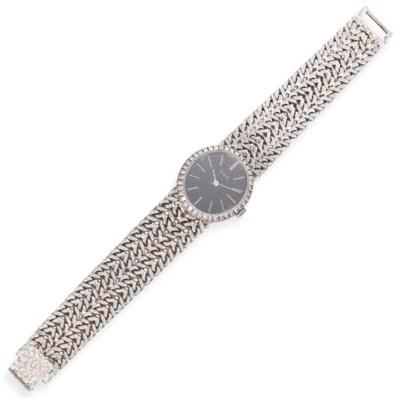 A White Gold and Diamond Wrist