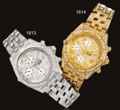 BREITLING. A VERY RARE LIMITED
