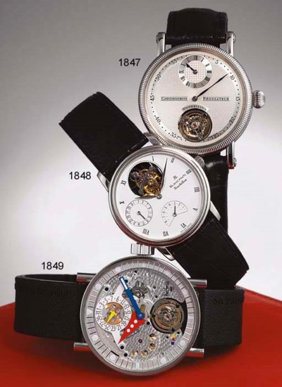CHRONOSWISS. A FINE STAINLESS